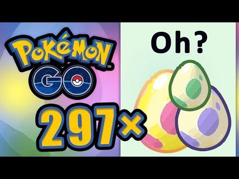 297 Eier Ausbrüten! Das Neue Beste Ei-Video 2019 | Pokémon GO Deutsch #855