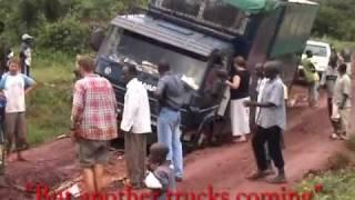 Africa, Stuck in the mud in Uganda