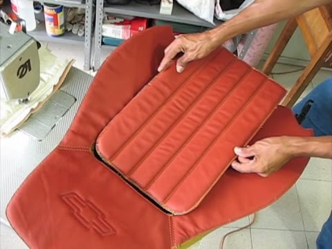 Foamed Channels/Use of 'Velcro' - Auto Upholstery