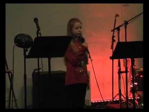 Katie Sullivan Singing How Could I Ever Know From The Secret Garden Youtube