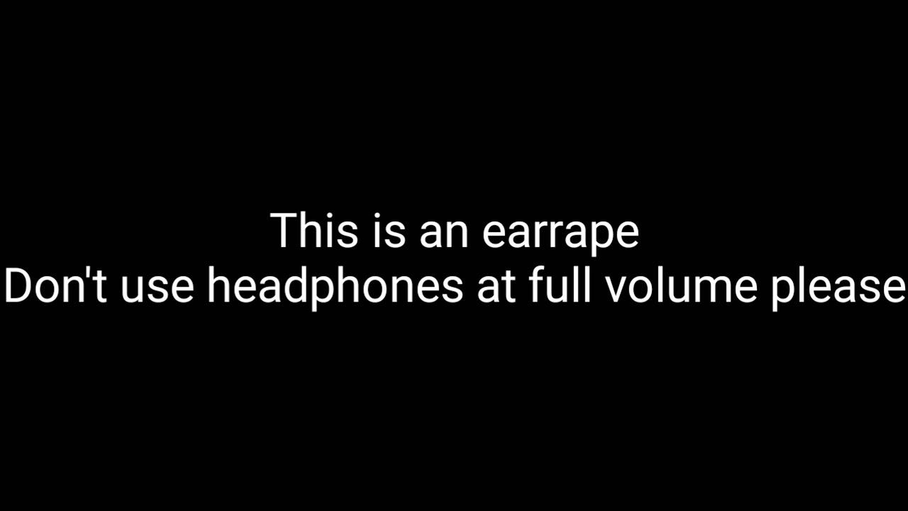 A Earrape For Kids Roblox Something Youtube