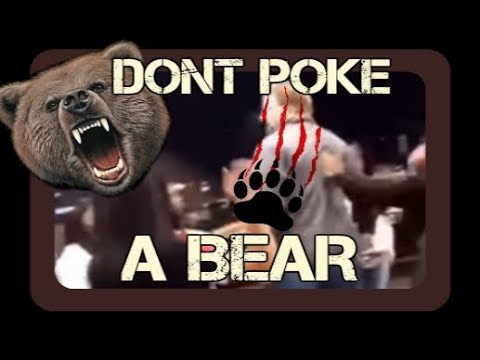 Teen Mob Attacks Man - Man Strikes Back - Don't Poke a Bear (Part 1)