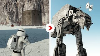Galactic Assault Intro Cinematics Remastered | Crait Outpost [First Order]