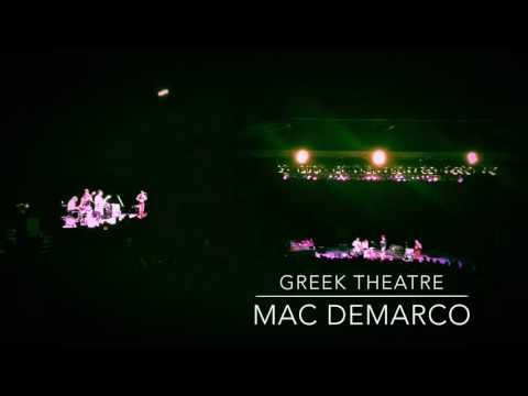 Mac Demarco at Greek Theatre