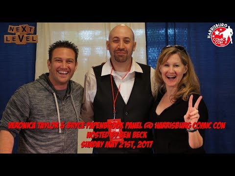 Veronica Taylor & Bryce Papenbrook Panel @ Harrisburg Comic Con / Sunday May 21st, 2017