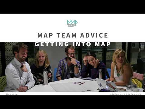 MAP18 Startup Accelerator Application Workshop - University of Melbourne