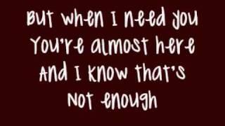 Brian McFadden Ft Delta Goodrem - Almost Here (Lyrics On Screen)