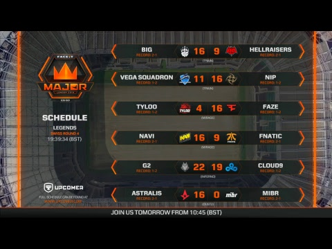 FACEIT Major 2018 | Legends - Day 4