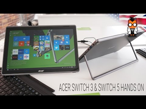 ACER Switch & Switch 5 Hands On