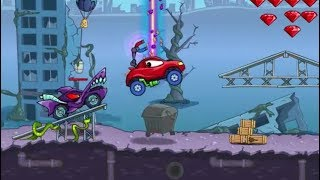 Car Eats Car: 4 Game Level 5-8 Walkthrough | Kids Games