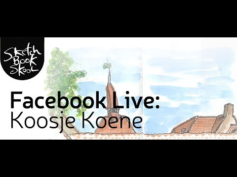 Facebook Live: Urban Sketching with Koosje