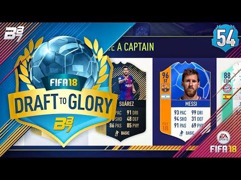 MOTM ST MESSI! | FIFA 18 DRAFT TO GLORY #54