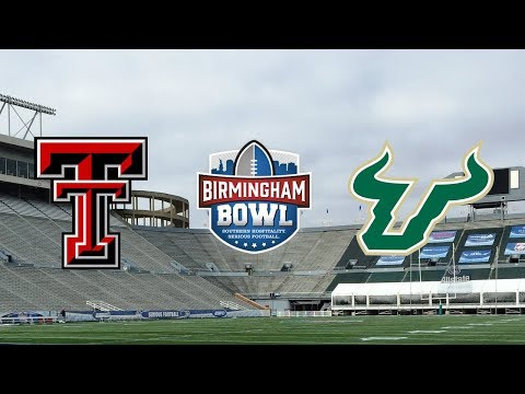 Texas Tech Vs. USF | 2017 Birmingham Bowl Highlights