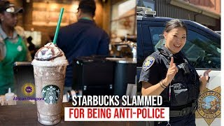 Cops Call Foul After Starbucks Baristas Ignore Them As They Waited To Be Served