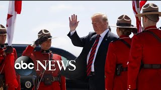 Trump tells G7 leaders to invite Russia back into the group