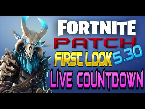 FORTNITE Xbox One - Patch 5.30 LIVE First Look - New Road Trip Challenge Skin Leaked In Game Proof