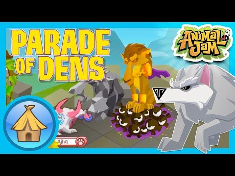 Ultimate Wolf Lairs!   Animal Jam - Parade of Dens