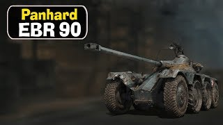 Panhard EBR 90 - идём к 105му. World of Tanks