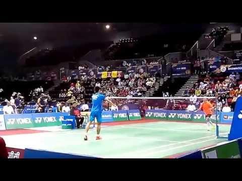 Viktor Axelsen 2017 HIGHLIGHTS vs Ajay Jayaram BEST RALLIES | BWF Yonex Badminton India Open from YouTube · Duration:  4 minutes 46 seconds