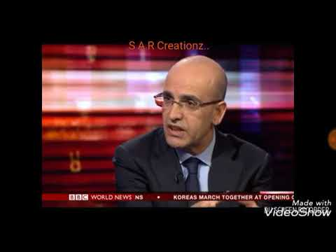 BBC World News Hardtalk Deputy Prime Minister Turkey Mehmet Simsek Speaking