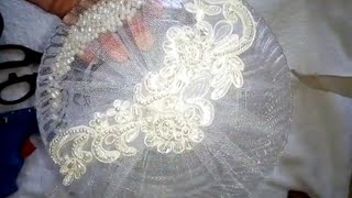 Свадебные тарелки своими руками. Быстро и красиво
