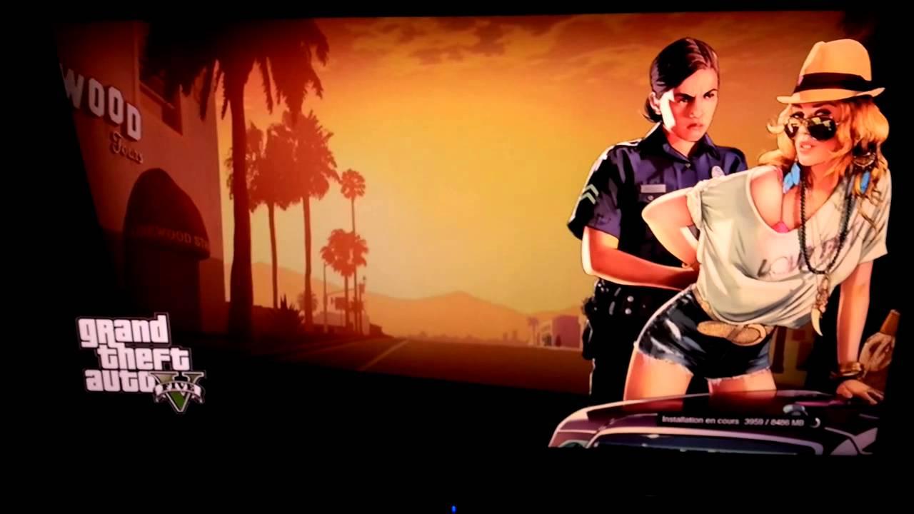 Grand Theft Auto 5 ps3 installer la taille