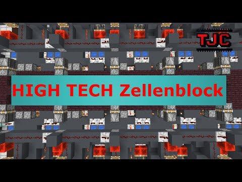 ⭐ Redstone Stern ⭐ Ep. 6: HIGH Tech Zellenblock