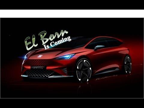 Seat Shows Volkswagen MEB-based El-Born EV - in Geneva Auto Show