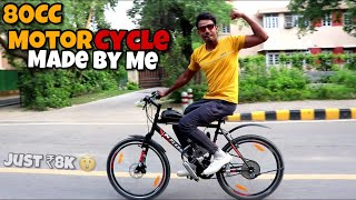 Motor + Cycle = Motorcycle Made By Me 😎 || Techno Khan