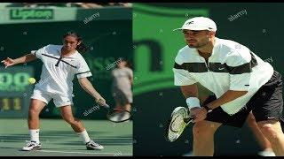Marcelo Ríos vs Andre Agassi Lipton 1998 HD Highlights