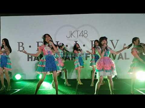 JKT48 - Part 3 mini concert @. HS Believe