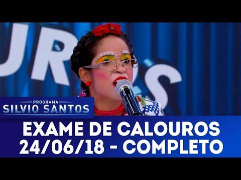 Exame de Calouros - Completo | Programa Silvio Santos (24/06/18)
