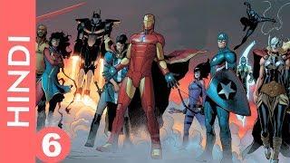 "Marvel CIVIL WAR 2-- episode 6 !! Let""s start the WAR !! /Marvel Comics in Hindi"