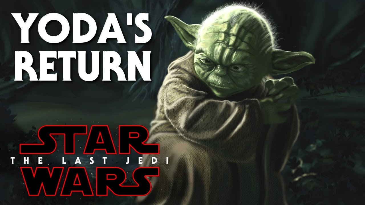 Star Wars Episode 8 The Last Jedi Yodas Return As A Force Ghost