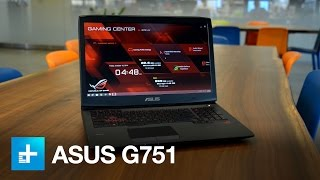 Asus ROG G751 Gaming Laptop - Hands On