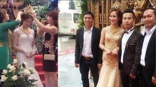 Cô dâu đội vương miện 100 cây vàng từ nhà chồng ở Nam Định, nhà chẳng có gì ngoài điều kiện