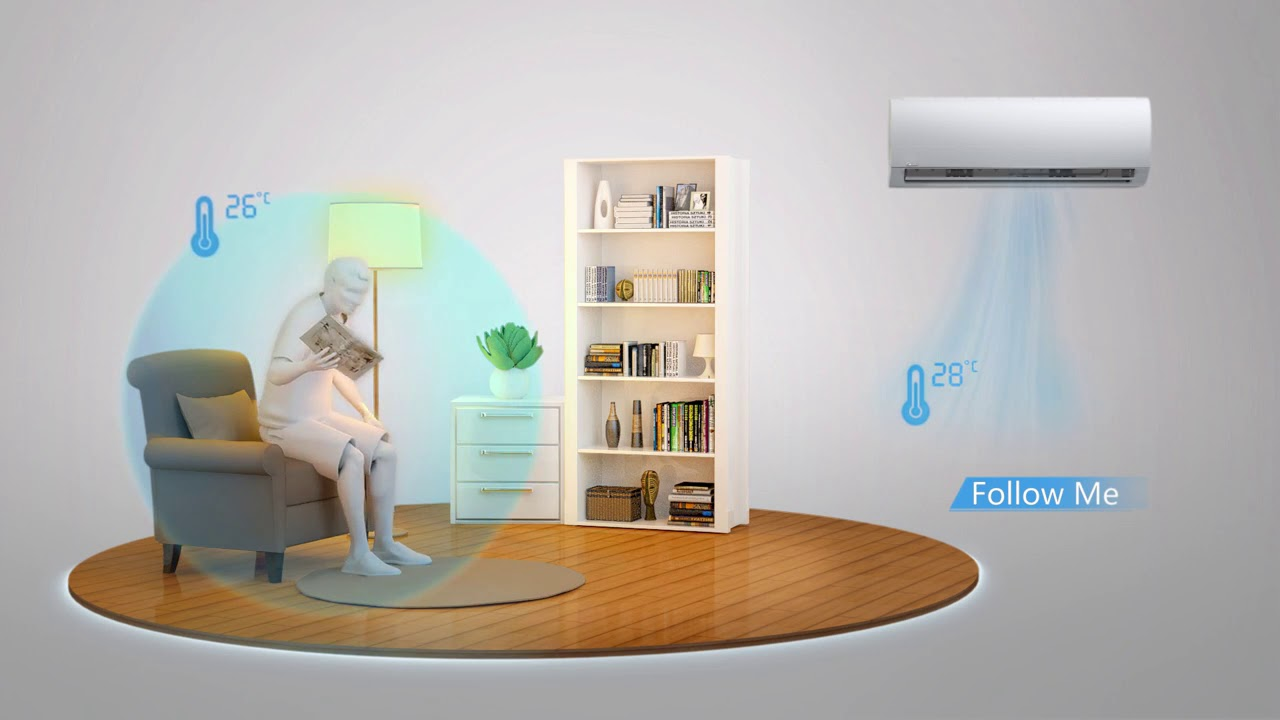 Midea Blanc Series Air Conditioner - YouTube