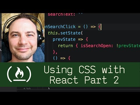 Using CSS With React Part 2 (P5D75) - Live Coding With Jesse