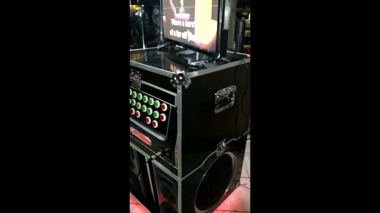Demo of 12x2 Flight Case Videoke with LED Strip Light - Berklyn Electronics  Quiapo Manila by Berklyn Electronic Supplies and Services