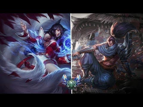 AHRI vs YASUO Ranked Diamond Season 8