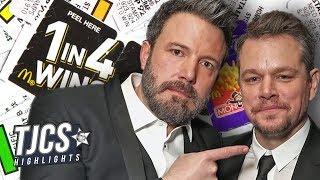 Affleck/Damon To Make McDonald's Monopoly Fraud Movie