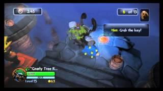 Skylanders - Series 2 Chop Chop's Heroic Challenge - Dungeness creeps - with Gnarly Tree Rex