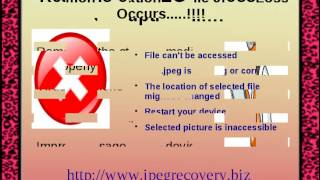 JPEG Recovery Solution: Recovery Of Lost Pictures Now Easily Possible!