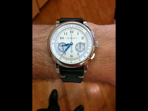 A. Lange & Sohne 1815 Chronograph UNBOXING AND REVIEW