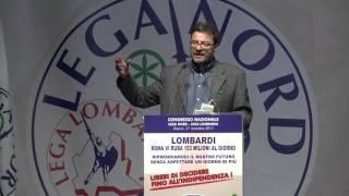 CONGRESSO DELLA #LEGA LOMBARDA - INTERVENTO DEL PRESIDENTE GIANCARLO #GIORGETTI