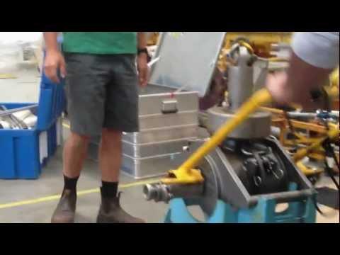 Shipek Grab testing