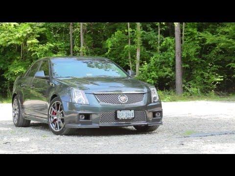 Cadillac CTS-V Review!