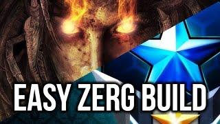 StarCraft 2: EASY Zerg Build Order in Master League!