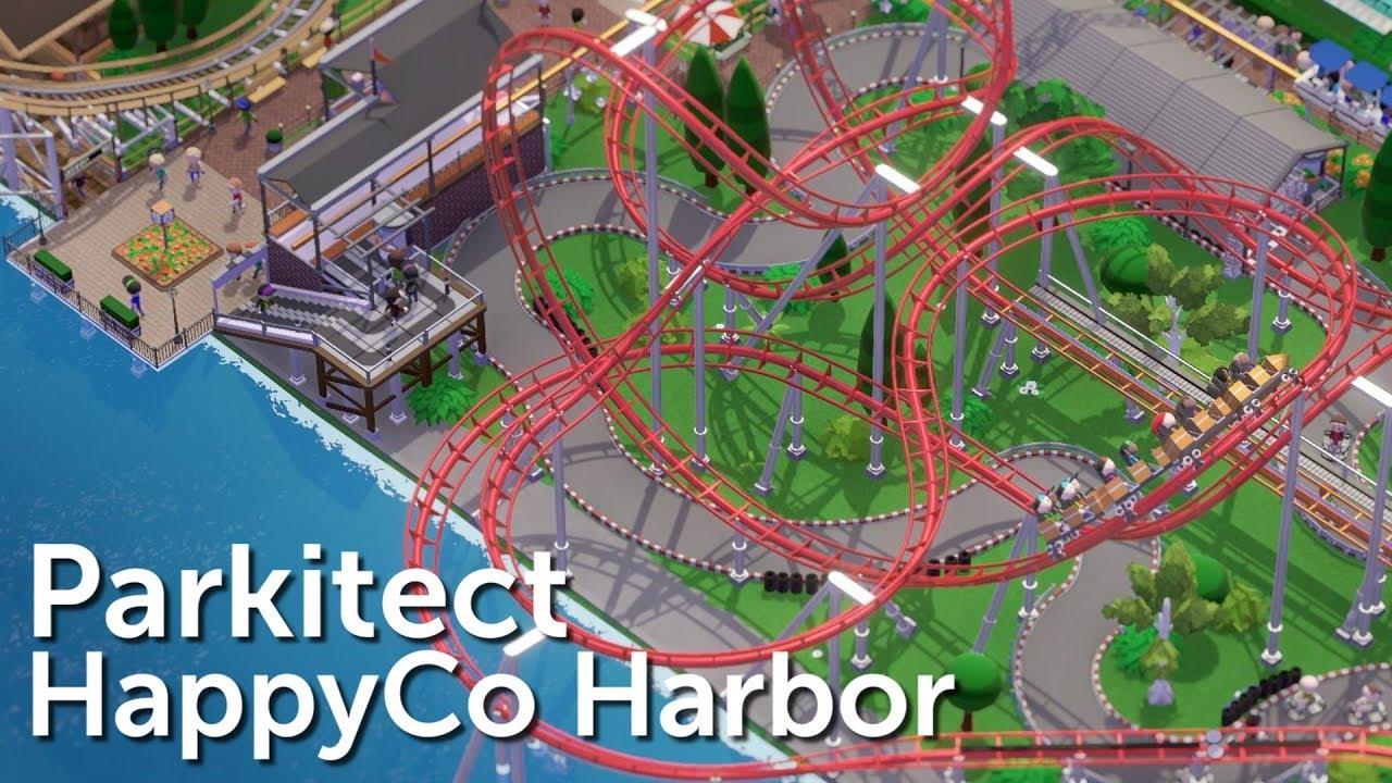 Parkitect Campaign (Part 12) - HappyCo Harbor - Dutch Port Park