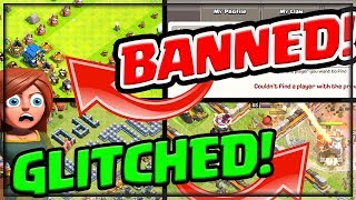 Banned, Glitched! ALL NEW Strange But True Clash of Clans!
